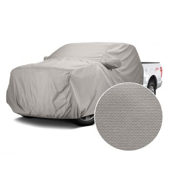 Covercraft® - WeatherShield™ HD Gray Custom Cab Area Cover