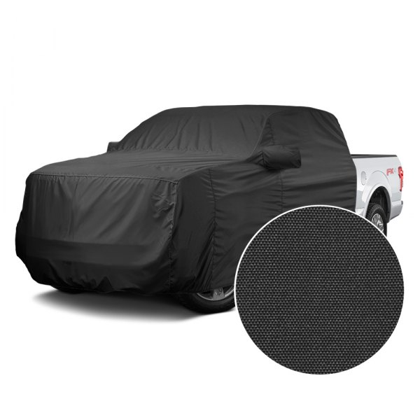 Covercraft® - WeatherShield™ HP Black Custom Cab Area Cover