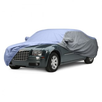 Covercraft® - WeatherShield™ HP Two-Tone Custom Light Blue Car Cover with Gray Sides