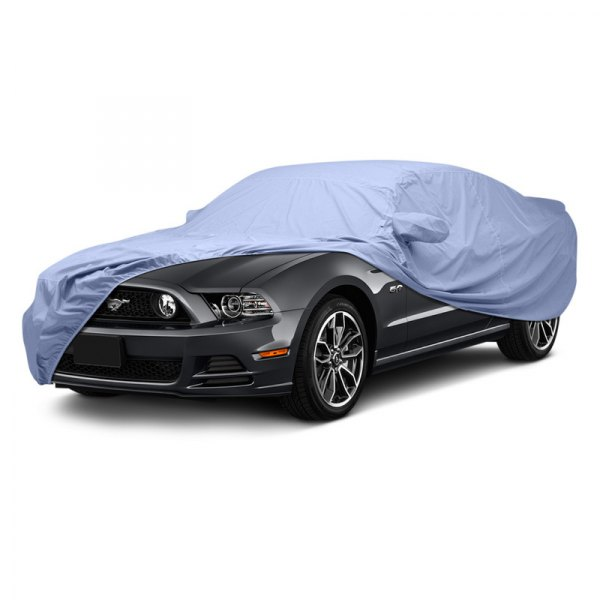 Image may not reflect your exact vehicle! Covercraft® - WeatherShield™ HP Custom Light Blue Car Cover