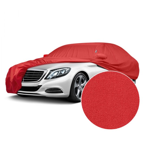 Image may not reflect your exact vehicle! Covercraft® - WeatherShield™ HP Custom Red Car Cover