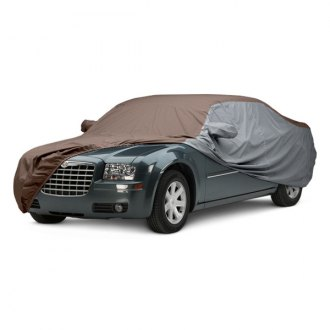 Covercraft® - WeatherShield™ HP Two-Tone Custom Taupe Car Cover with Gray Sides