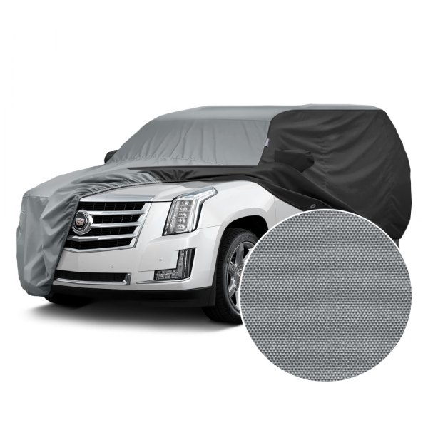 Covercraft® - WeatherShield™ HP Two-Tone Custom Car Cover with Gray Center and Black Sides