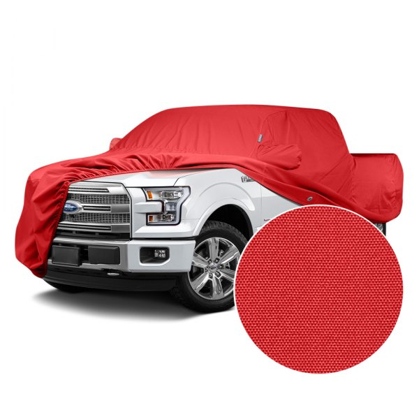 WeatherShield HP Fabric Covercraft Custom Fit Car Cover for Chevrolet Wagon Red