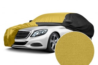 WeatherShield™ HP Two-Tone Custom Car Cover with Yellow Center and Black Sides