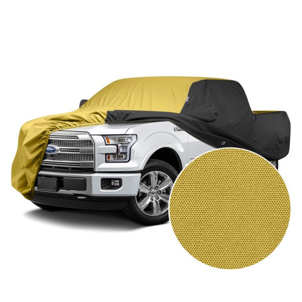 Covercraft® - WeatherShield™ HP Two-Tone Custom Car Cover with Yellow Center and Black Sides