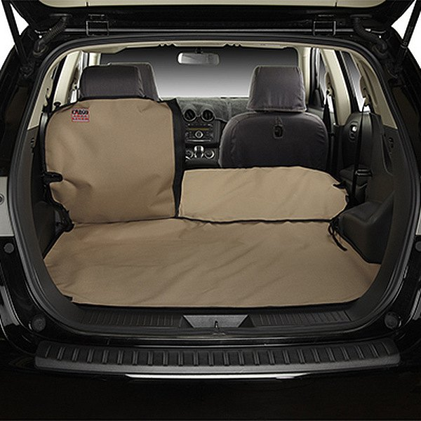 Image may not reflect your exact vehicle! Covercraft® - Custom Cargo Area Liner™ - Tan