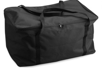 Covercraft® - Zippered Black Tote Bag