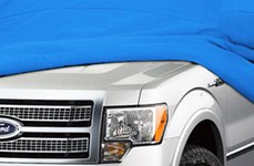 Covercraft® - Blue Custom Car Cover on Ford