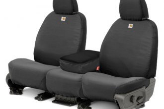Covercraft® SSC2459CAGY - 1st Row SeatSaver™ Carhartt™ Gravel Seat Covers