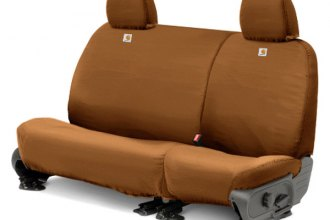 Covercraft® SSC8357CABN - 2nd Row Carhartt™ Custom Brown Seat Protectors