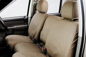 Covercraft® - SeatSaver™ Taupe Polycotton Seat Cover