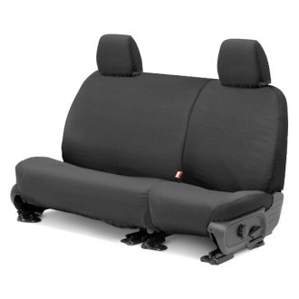 Covercraft® - SeatSaver™ Rear Row Polycotton Custom Charcoal Seat Protectors