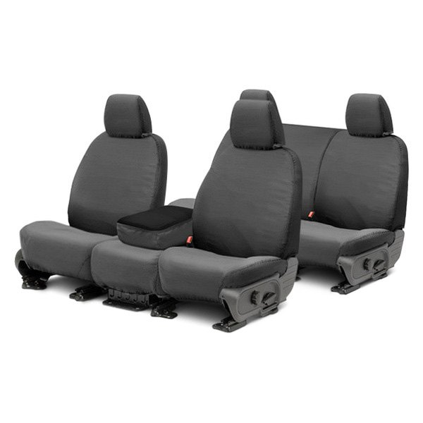 Covercraft® - SeatSaver™ Waterproof Polyester Gray Seat Covers