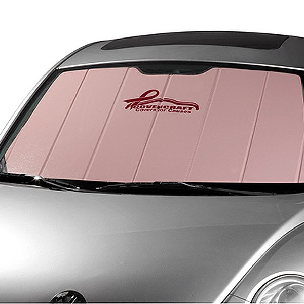Image may not reflect your exact vehicle! Covercraft® - UVS100™ Pink Ribbon Heat Shield