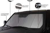 Covercraft® - UVS100™ Custom Silver Sun Shade