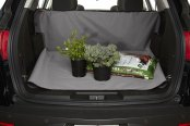 Image may not reflect your exact vehicle! Covercraft® - Universal-Fit Cargo Area Liner™ - Gray