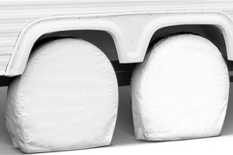 "Covercraft® ST7005WH - SnapRing TireSavers™ White Covers (40-42"" Tire Diameter)"