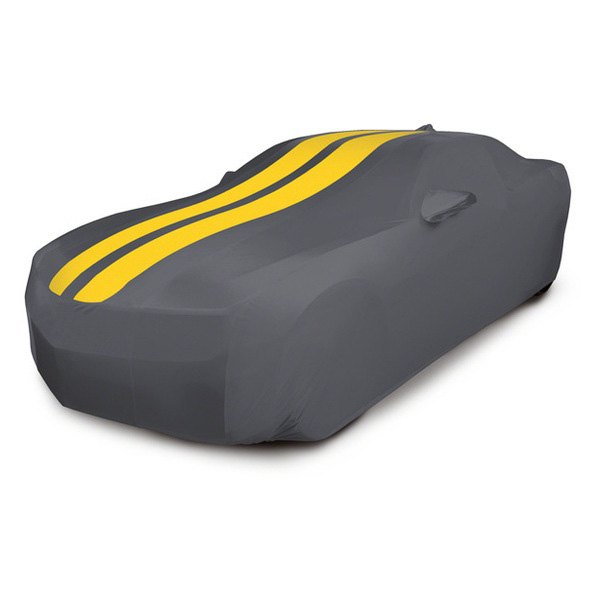 Coverking® - Custom Yellow Stormproof™ Racing Stripes