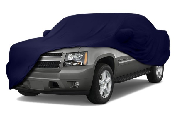 Coverking® - Satin Stretch™ Custom Dark Blue Car Cover