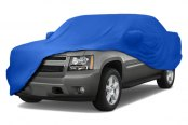 Coverking® - Satin Stretch™ Custom Grabber Blue Car Cover