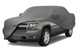 Image may not reflect your exact vehicle! Coverking� - Satin Stretch� Custom Gray Car Cover
