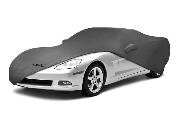 Image may not reflect your exact vehicle! Coverking® - Satin Stretch™ Custom Gray Car Cover