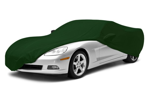 Coverking® - Satin Stretch™ Custom Green Car Cover