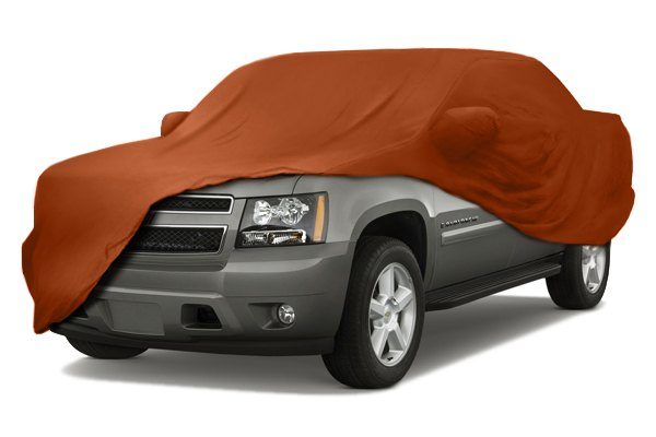 Coverking® - Satin Stretch™ Custom Inferno Orange Car Cover