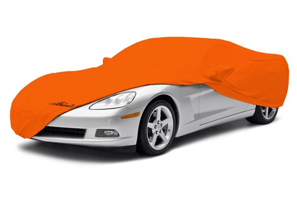 Coverking® - Satin Stretch™ Custom Rust Orange Car Cover