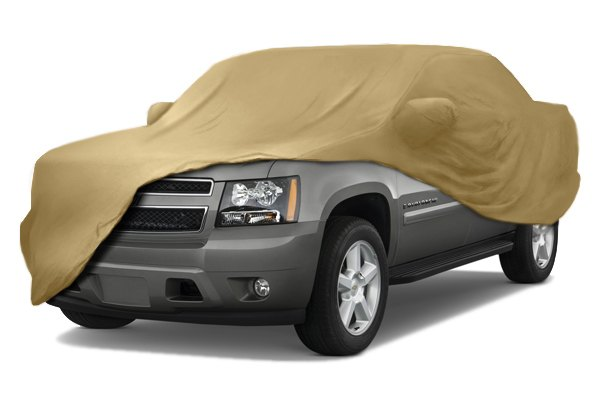 Coverking® - Satin Stretch™ Custom Tan Car Cover