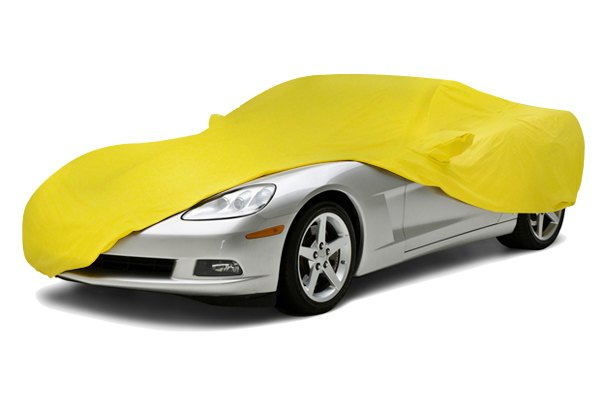 Coverking® - Satin Stretch™ Custom Yellow Car Cover