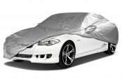 Image may not reflect your exact vehicle! Coverking® - Silverguard™ Custom Gray Car Cover