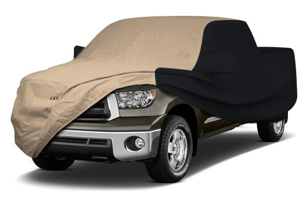 Coverking® - Stormproof™ Custom Tan Car Cover with Black Sides