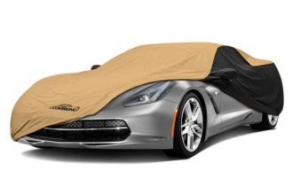 Image may not reflect your exact vehicle! Coverking� - Stormproof� Custom Tan Car Cover with Black Sides