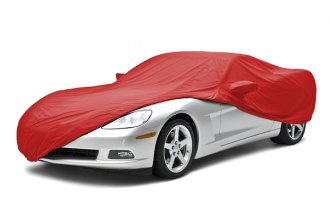 Coverking® CVC2SP94MD7053 - Stormproof™ Custom Red Car Cover