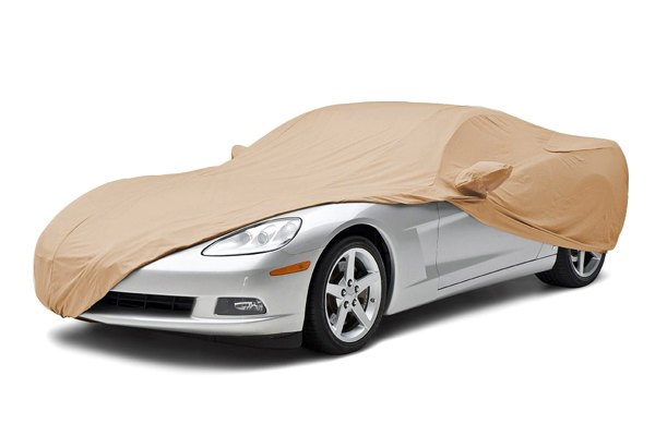 Image may not reflect your exact vehicle! Coverking® - Stormproof™ Custom Tan Car Cover