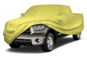 Image may not reflect your exact vehicle! Coverking® - Stormproof™ Custom Yellow Car Cover
