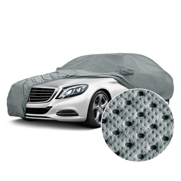 Coverbond 4 Gray Coverking Custom Fit Car Cover for Select Chevrolet Models