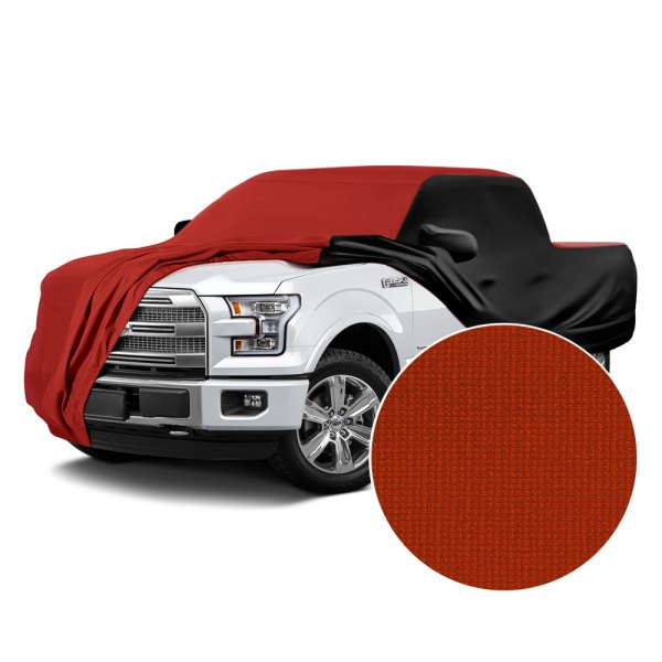 Coverking® - Satin Stretch™ Adrenaline Red with Black Custom Car Cover