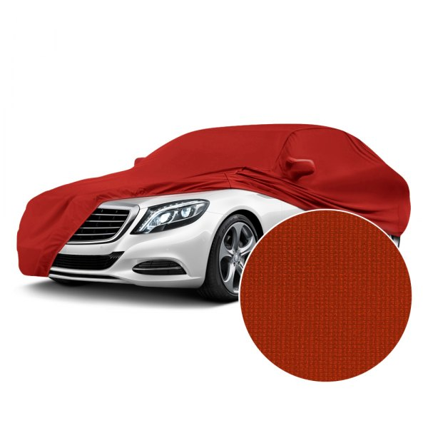 Coverking® - Satin Stretch™ Adrenaline Red Custom Car Cover