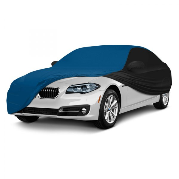 Coverking® - Satin Stretch ™ Custom Grabber Blue with Black Car Cover
