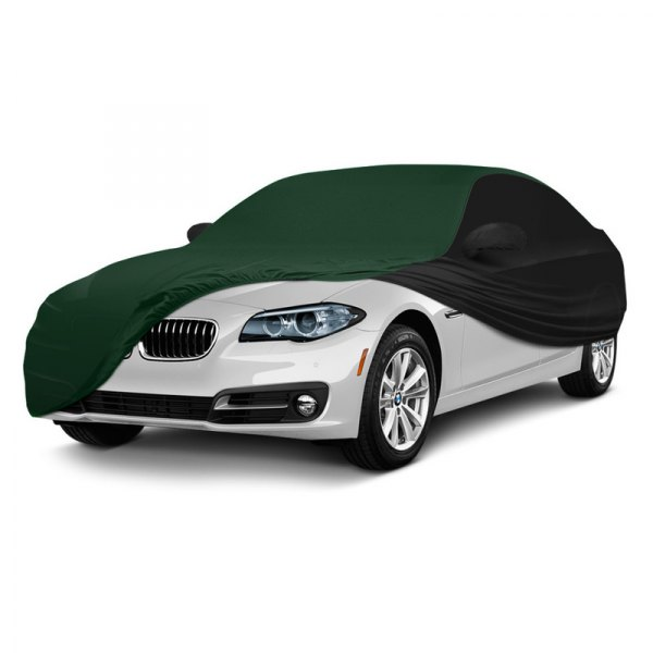 Coverking® - Satin Stretch ™ Custom Green with Black Car Cover