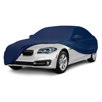 Coverking® - Satin Stretch™ Indoor Custom Dark Blue Car Cover