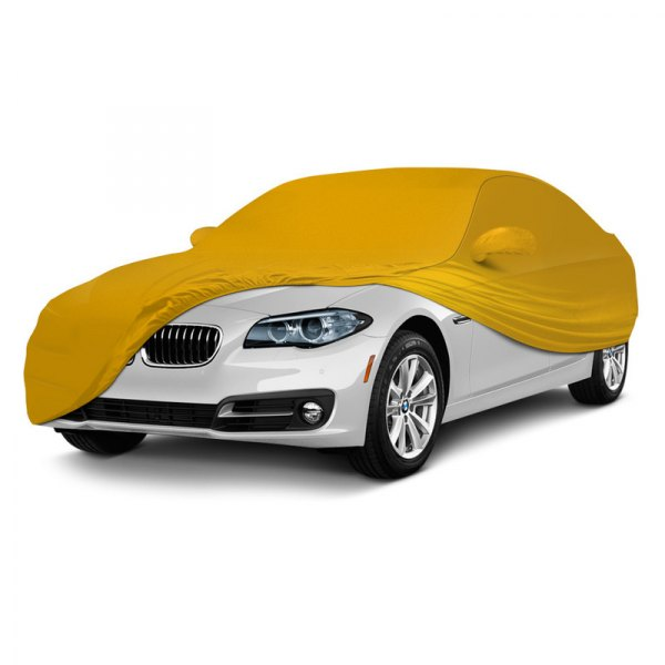 Coverking® - Satin Stretch ™ Custom Grabber Orange Car Cover