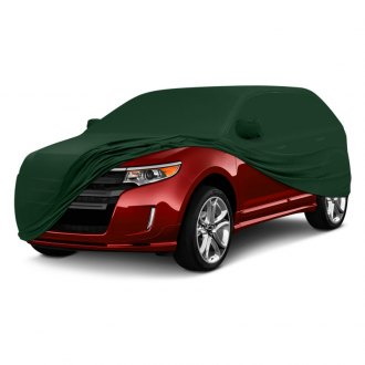 Coverking® - Satin Stretch™ Indoor Custom Green Car Cover