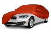 Coverking® - Satin Stretch ™ Custom Inferno Orange Car Cover
