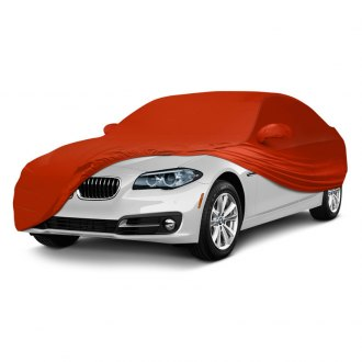Coverking® - Satin Stretch™ Indoor Custom Inferno Orange Car Cover