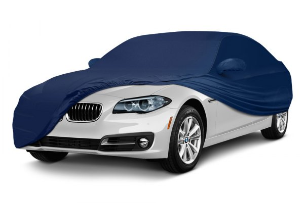 Coverking® - Satin Stretch ™ Custom Navy Blue Car Cover