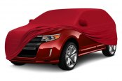 Coverking® - Satin Stretch ™ Custom Red Car Cover